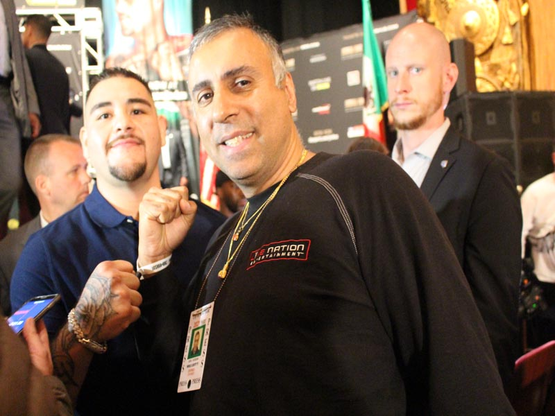 Dr.Abbey with New  World Heavyweight Champion From Mexico  Andy Ruiz Jr