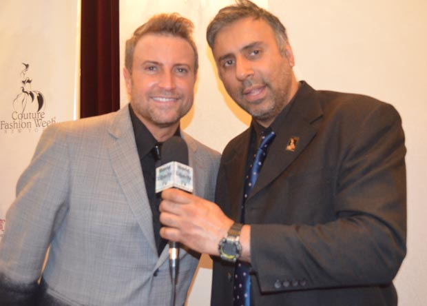 Dr.Abbey with World Renowned Designer Catalin Botezatu from Romania