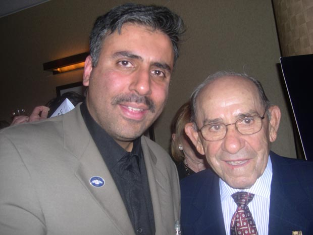 Dr.Abbey   with Yankees Great Yogi Berra