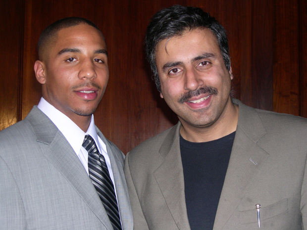 Dr.Abbey with boxing great Andre ward