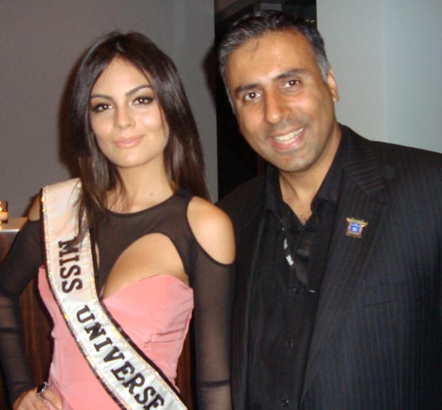 Dr.Abbey with miss universe 2010 mexico jimena navarrete