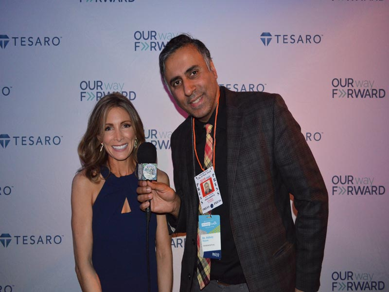Dr.Abbey withShannon Miller 7 Time Olympic Medalist in Gymnastics