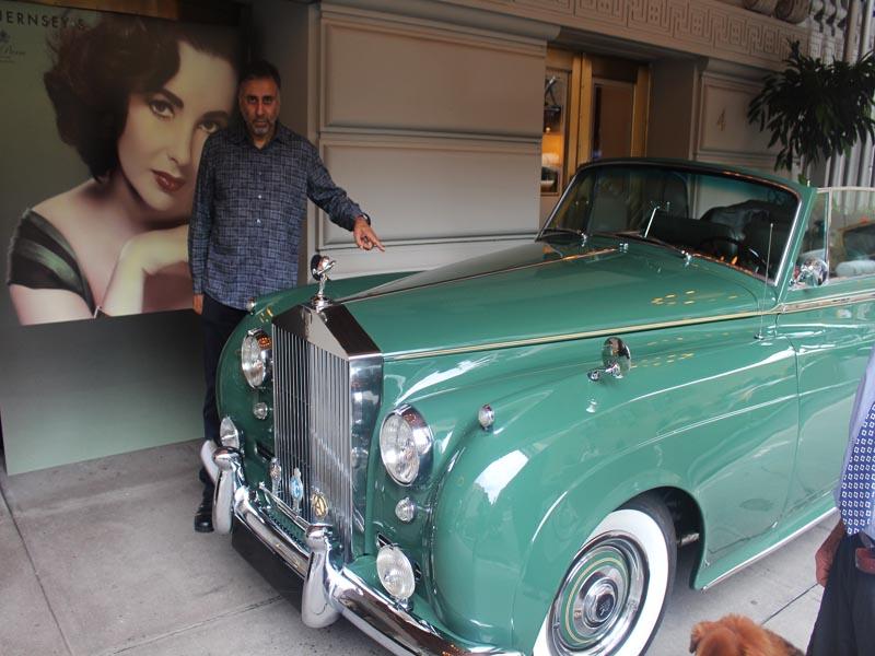 Elizabeth Taylors GREEN GODDESS 1960 ROLLS ROYCE SILVER CLOUD II