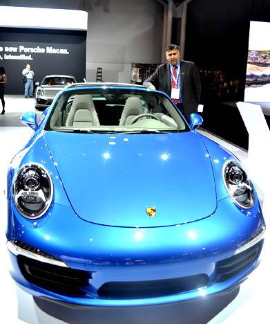 Porsche 2014 911  Targa 4