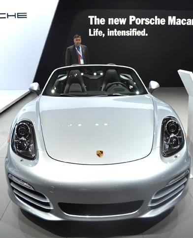 Porsche Boxster 2014 silver 2
