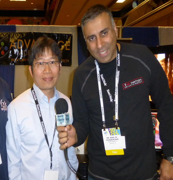 ,Tommy Cheng and Dr Abbey