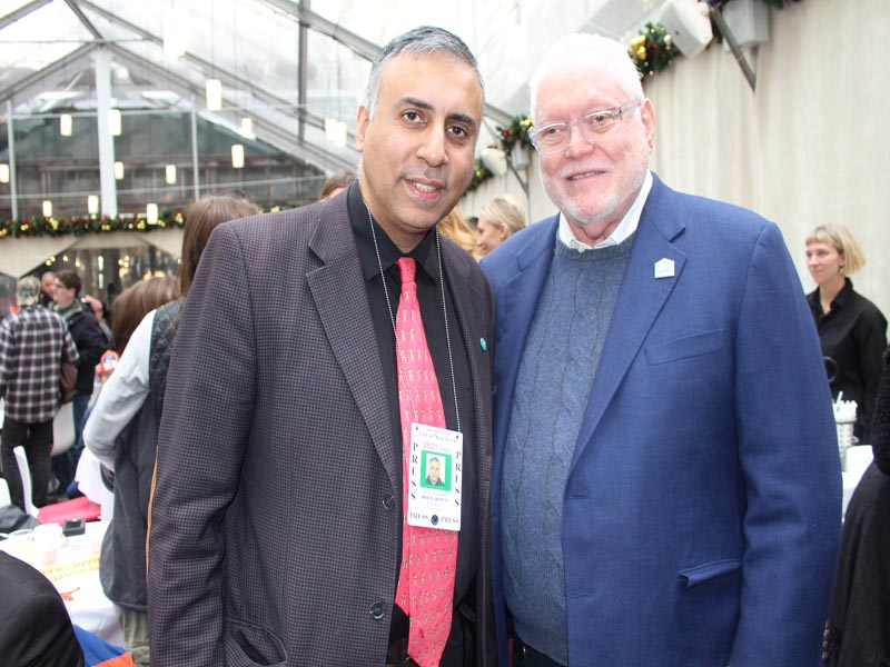 Dr Abbey with Alfred R.Kahn Founder & Chairman First Responders Childrens Foundation