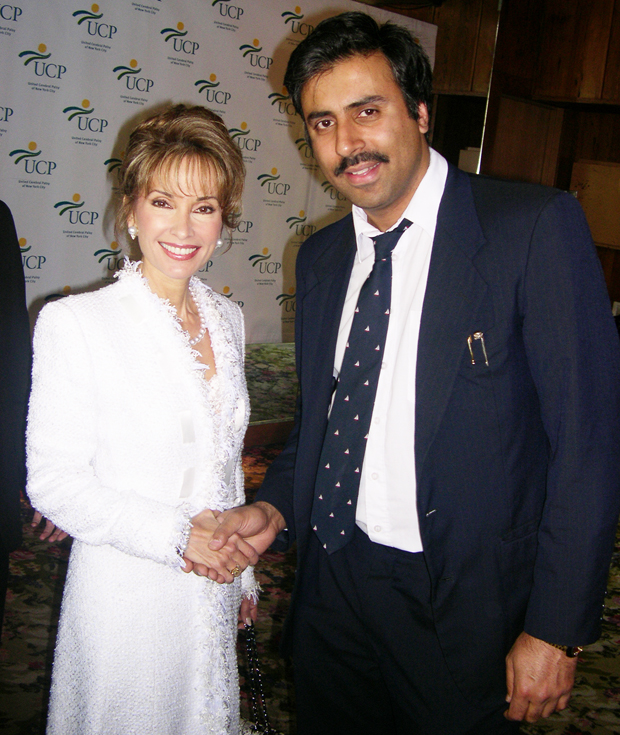 Dr Abbey with Susan Lucci Soap Great