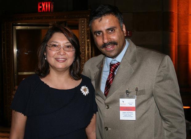 Dr.Abbey Amb Byrganym Aitimova of Kazakhstan