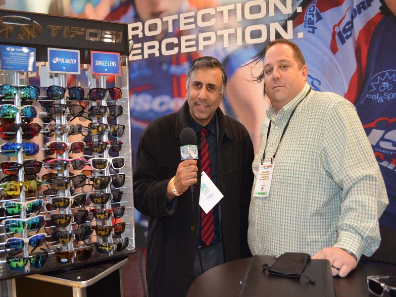 Dr.Abbey with Adam Brim of Tiposi Optics Inc