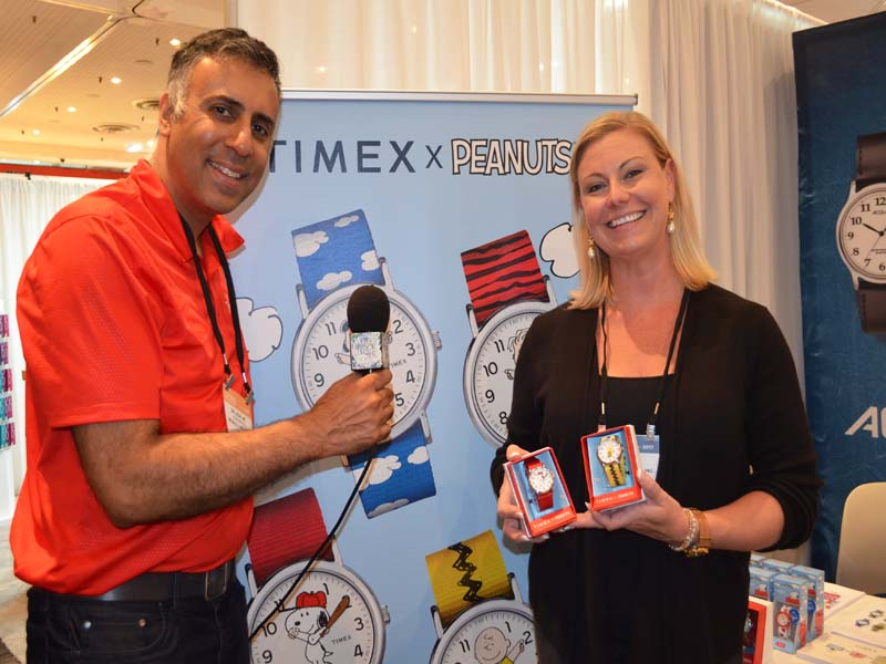 Dr.Abbey with Andrea Hughes of Timex Watches