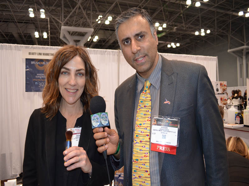 Dr.Abbey with Andrea Wetsel  of Brush on Block