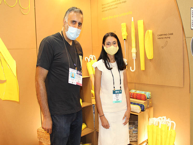 Dr.Abbey with Anuja Jaitly Founder & CEO UMBY