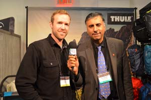 Dr.Abbey with Chris Ritchie of Thule Inc