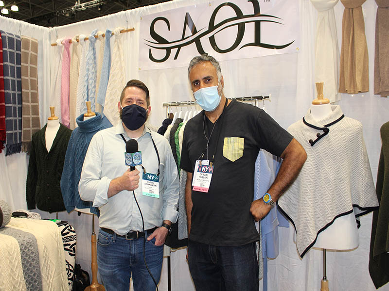 Dr.Abbey with Chris Schauman of SAOL Co