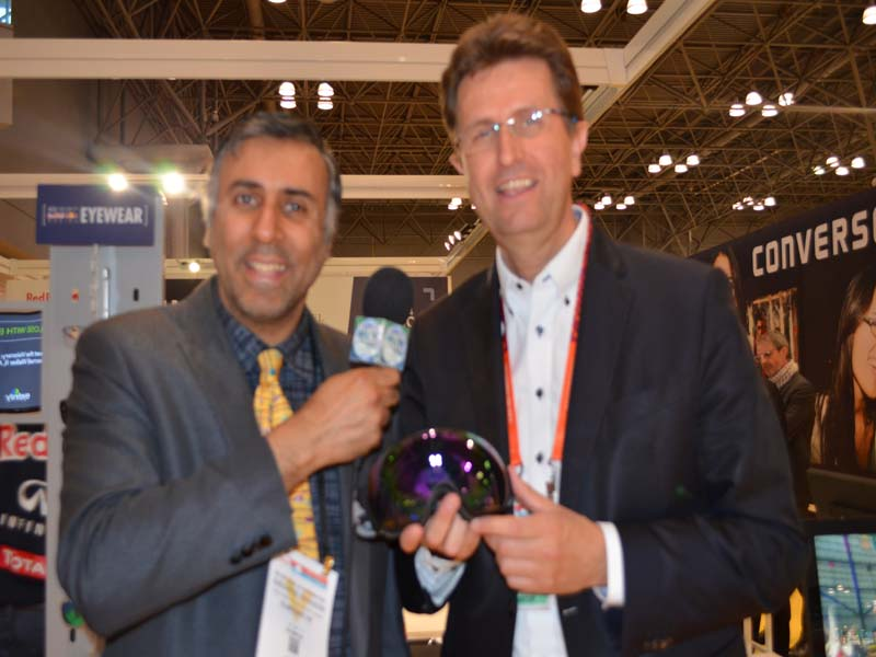 Dr.Abbey with Christian Hoferl of Red Bull Racing Eyewear