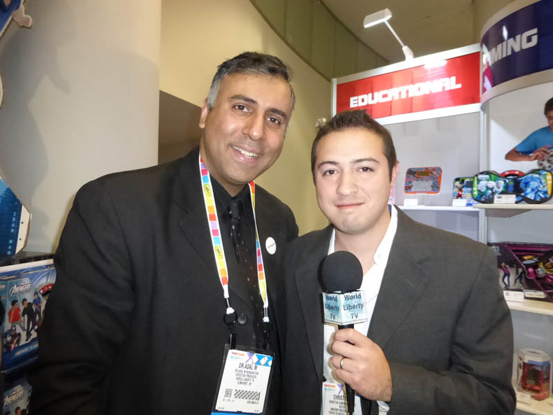 Dr.Abbey with Christyan Zamora CMO of amEurope Co