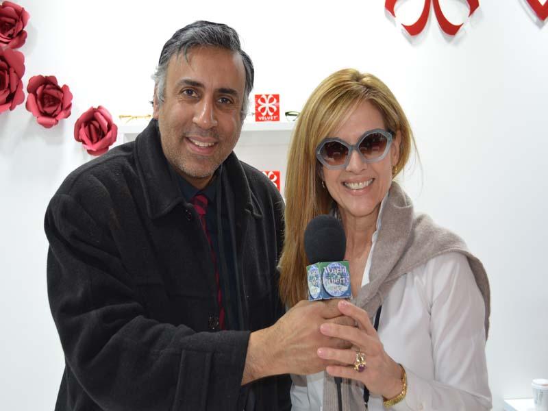 Dr.Abbey with Cindy Hussey Founder Velvet eyewear