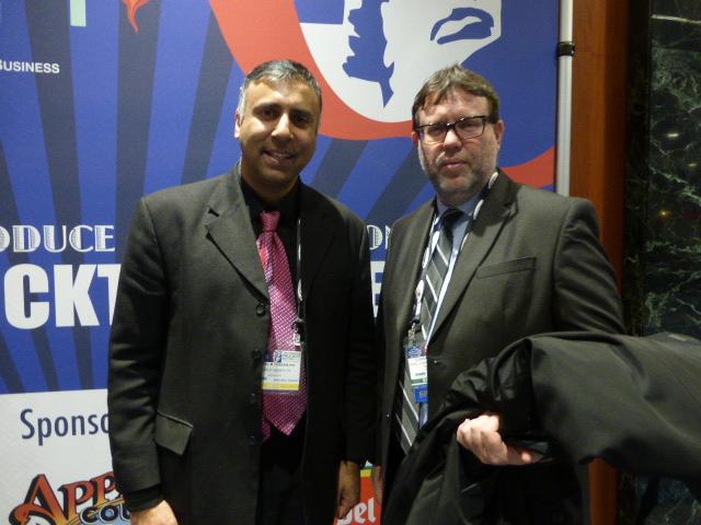 Dr.Abbey with Conrado Falco of Peru TC