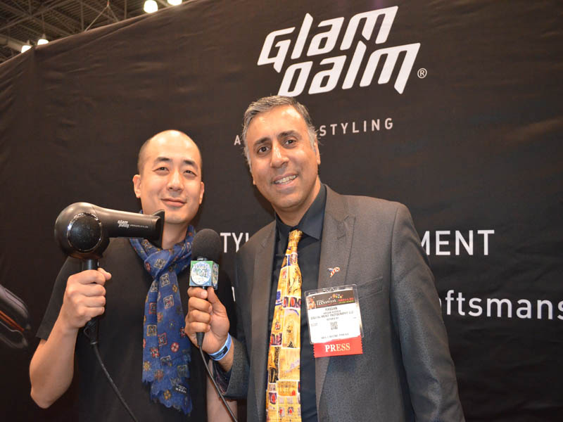 Dr.Abbey with Daniel Yoon of Glam Palm