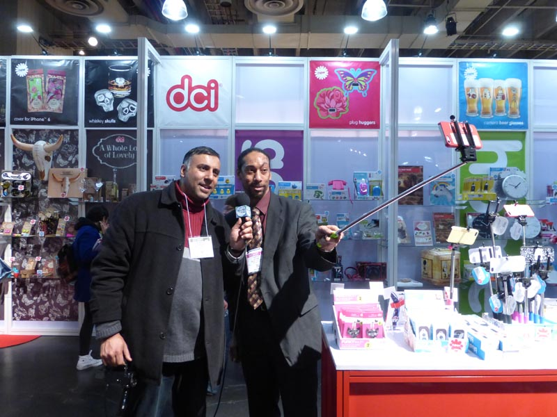 Dr.Abbey with Darnell Bryant of DCI Gift Co