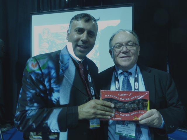 Dr.Abbey with David Daks President Devic Int Inc