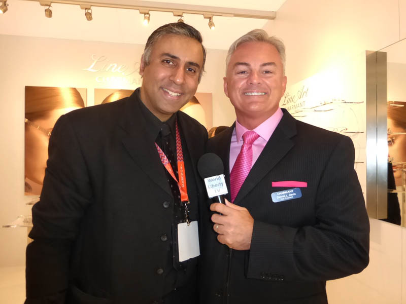 Dr.Abbey with Dennis L.Davis of Charmant Group