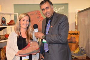 Dr.Abbey with Erin Braun of DANNER Company