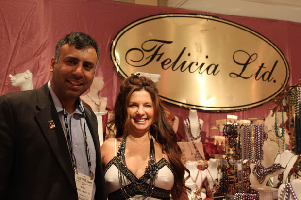 Dr. Abbey with Felicia Rushkin  Jewellery Designer