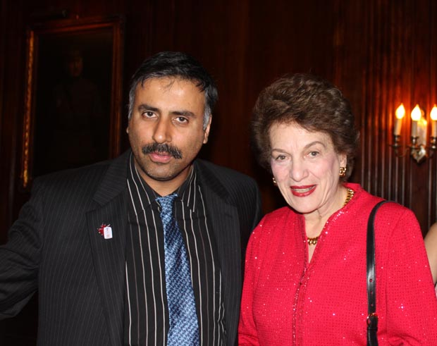 Dr.Abbey with Former  Chief Judge of NY Judith Kaye