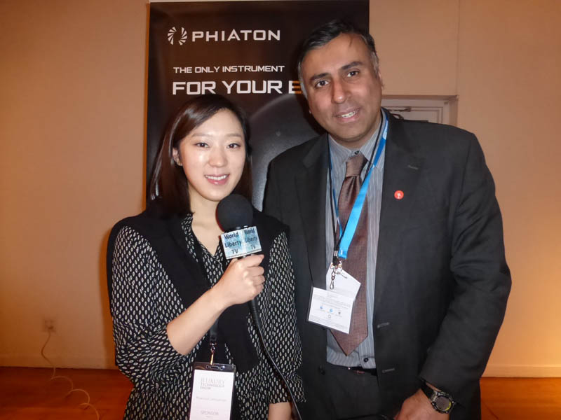 Dr.Abbey with Hyo-Jung Lee Of Phiaton Corp