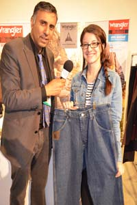 Dr.Abbey with Jennie Klahre of Wrangler Riggs Workwear Jeans