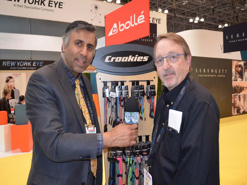Dr.Abbey with Jim Neuman of Hilco Vision