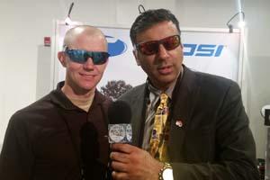 Dr.Abbey with Joe Earley owner Tifosi Optics