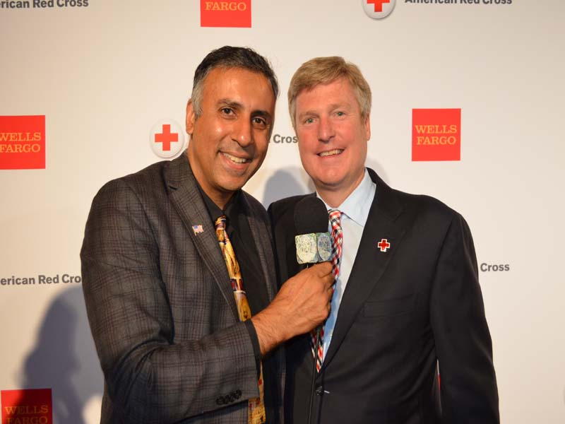 Dr.Abbey with John Osborn Chairman of GNY American Red Cross