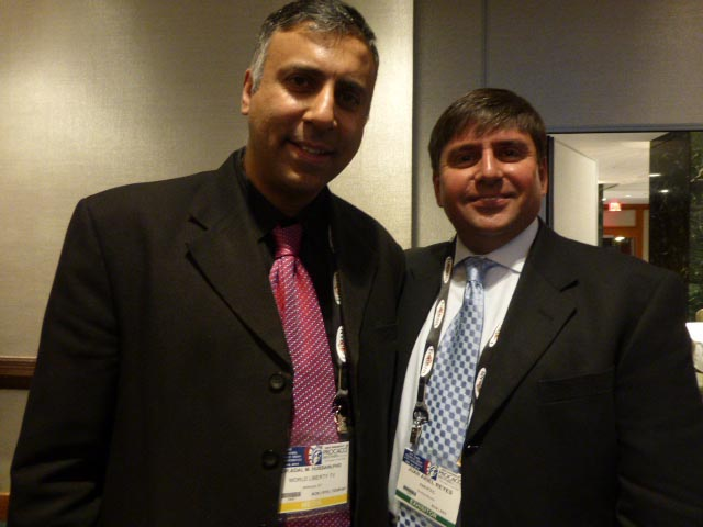 Dr.Abbey with Juan Ariel Reyes President AMHPAC
