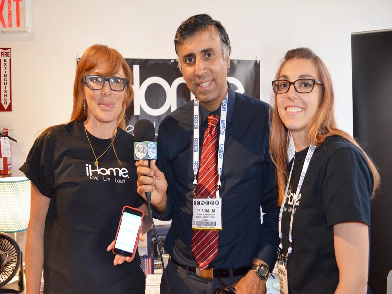 Dr.Abbey with  Julia & Sonia of Ihome Co