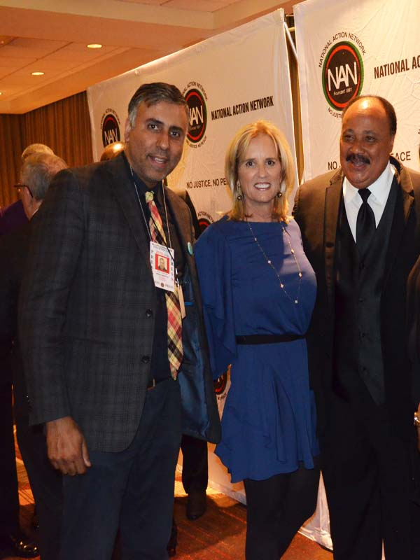 Dr.Abbey with Kerry Kennedy & Martin Luter King 3rd