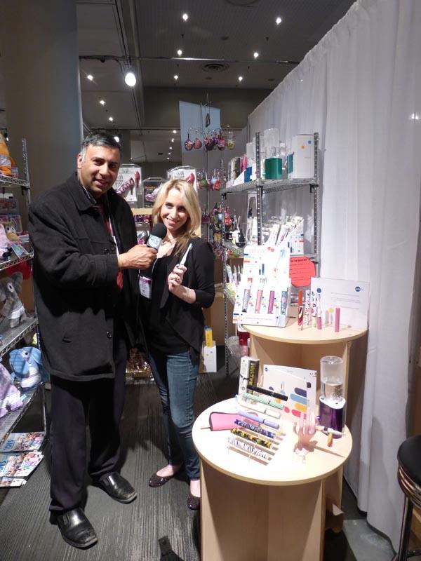 Dr.Abbey with Lauren Hayman of Vio Life