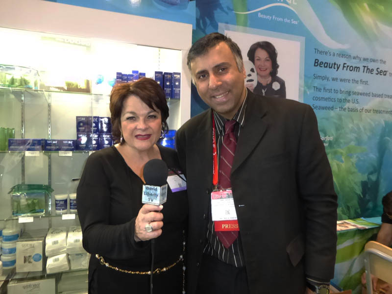 Dr.Abbey with Lydia Sarfati President REPECHAGE