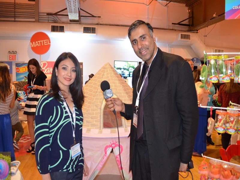 Dr.Abbey with Maria Morales of Pacific Play Tents