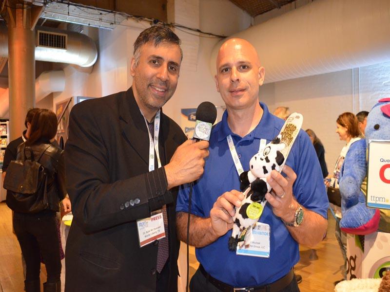 Dr.Abbey with Matt Wurtzel of QPG
