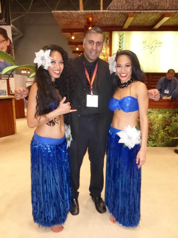 Dr.Abbey with Maui Maui Dancers