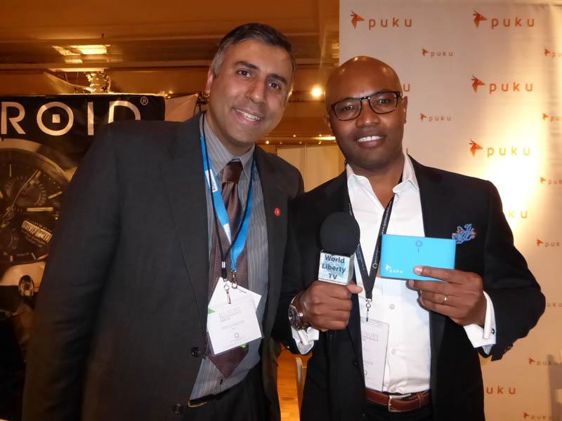 Dr.Abbey with Meck Khalfan,CEO Puku LLC