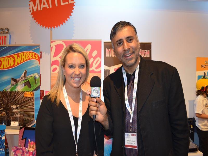 Dr.Abbey with Melisa Beck PR Manager of Mattel