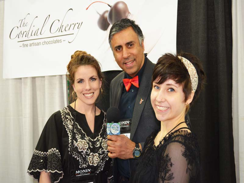 Dr.Abbey with Melissa Stephens  & Daughter  for The Cordial Cherry