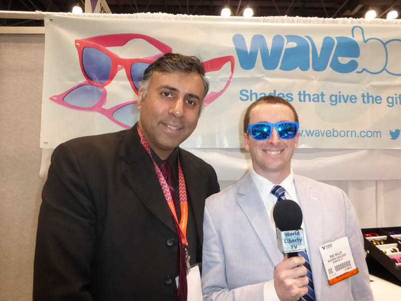 Dr.Abbey with Mike Malloy of Waveborn