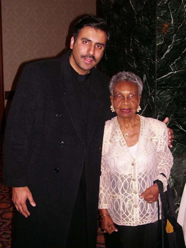 Dr.Abbey with   Muriel Petioni  Founder of Friends of harlem Hospital