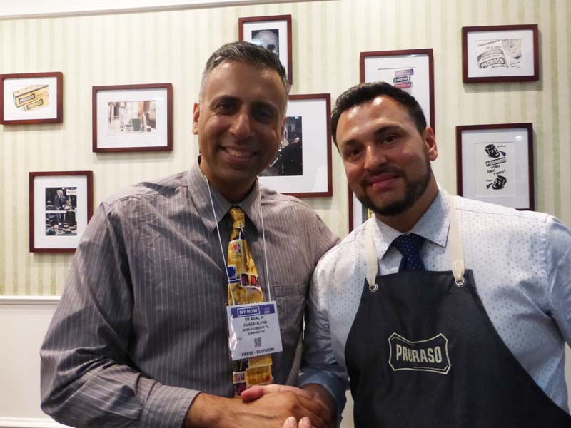 Dr.Abbey with Proraso Gentlemans Barber