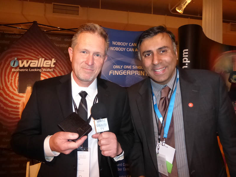Dr.Abbey with Roger Mos CE of iWallet